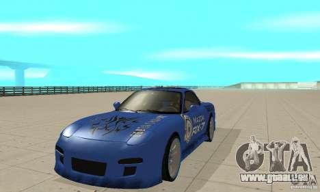 Mazda RX-7 Pickup pour GTA San Andreas laissé vue