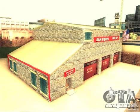 Eine neue Feuerwache in San Fierro für GTA San Andreas zweiten Screenshot