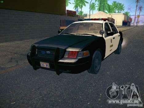 Ford Crown Victoria Police Intercopter für GTA San Andreas