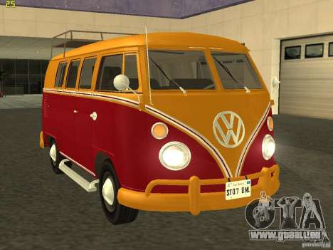 Volkswagen Transporter T1 Camper für GTA San Andreas