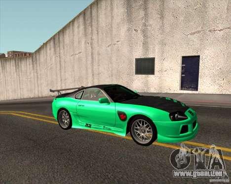 Toyota Supra ZIP style für GTA San Andreas
