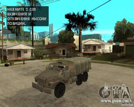 Oural-4230 pour GTA San Andreas