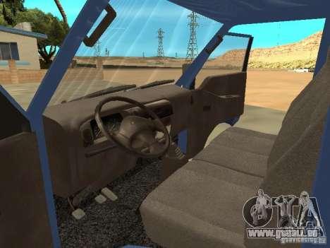 Hyundai Porter pour GTA San Andreas vue de droite