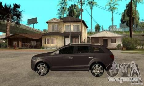 AUDI Q7 V12 V2 für GTA San Andreas linke Ansicht