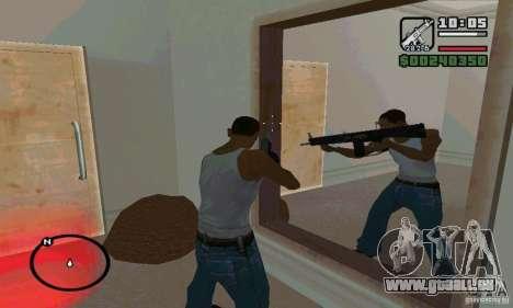Die AA-12 Schrotflinte für GTA San Andreas zweiten Screenshot