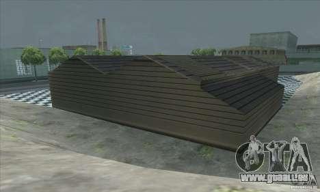 La mise à jour garage CJ dans SF pour GTA San Andreas cinquième écran