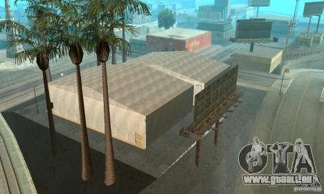Basketball Court v6.0 pour GTA San Andreas cinquième écran