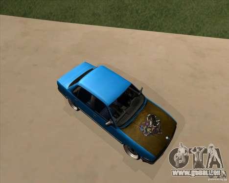 BMW E30 325e Duscchen für GTA San Andreas linke Ansicht