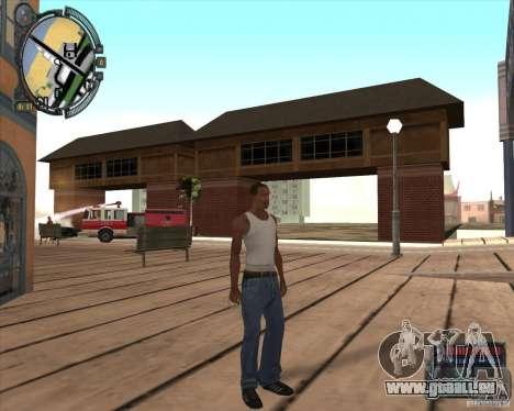 S.T.A.L.K.E.R. Call of Pripyat HUD for SA v1.0 für GTA San Andreas achten Screenshot