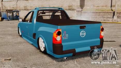 Chevrolet Montana FIXA für GTA 4 hinten links Ansicht