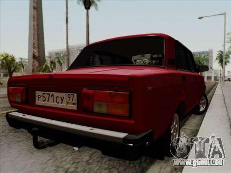 VAZ 21054 pour GTA San Andreas laissé vue