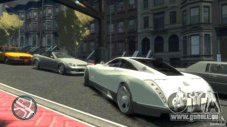 Maybach Exelero für GTA 4 rechte Ansicht