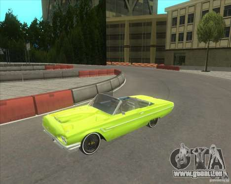 Ford Thunderbird 1964 pour GTA San Andreas
