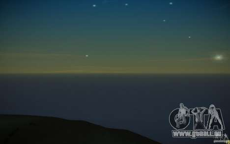 HD Wasser v3. 0 für GTA San Andreas siebten Screenshot