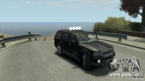 Lincoln Navigator pour GTA 4 est un droit