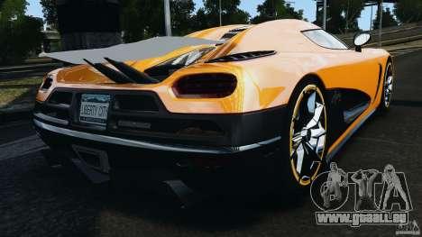 Koenigsegg Agera R v2.0 [EPM] für GTA 4 hinten links Ansicht
