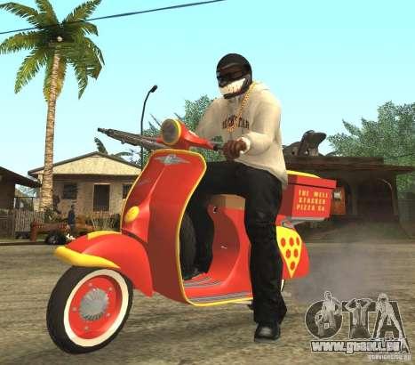 Vespa N-50 Pizzaboy für GTA San Andreas