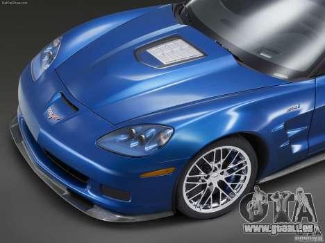 Chargement des écrans Chevrolet Corvette pour GTA San Andreas sixième écran