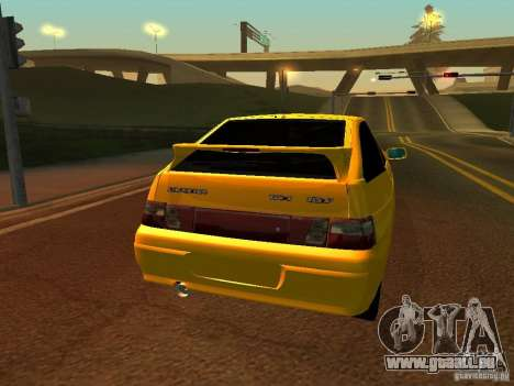 VAZ-2112 pour GTA San Andreas vue de droite