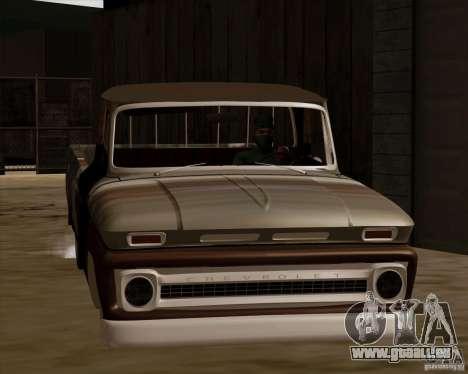 Chevrolet C10 Rat Rod pour GTA San Andreas laissé vue
