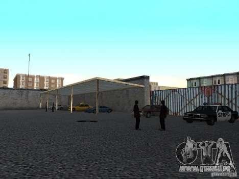 Réaliste conduite école v1.0 pour GTA San Andreas troisième écran
