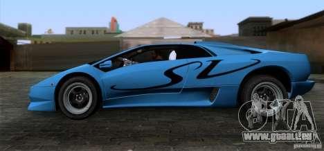 Lamborghini Diablo SV V1.0 für GTA San Andreas linke Ansicht