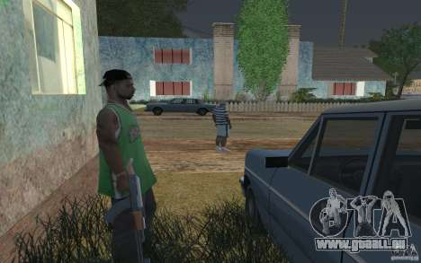 La maison du vert pour GTA San Andreas quatrième écran