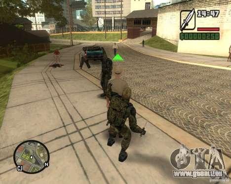 Regroupant les harceleurs de la liberté pour GTA San Andreas troisième écran