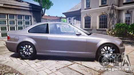 BMW 3 Series E46 v1.1 für GTA 4 Seitenansicht