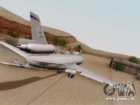 McDonell Douglas KC-10A Extender für GTA San Andreas rechten Ansicht