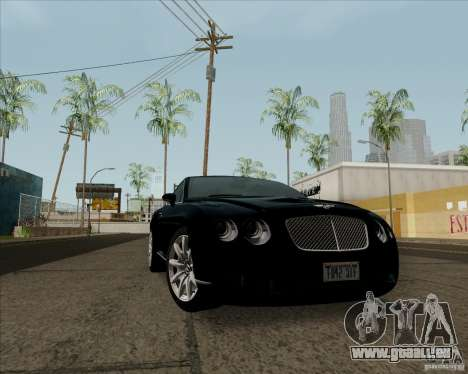 Bentley Continental GT V1.0 für GTA San Andreas linke Ansicht