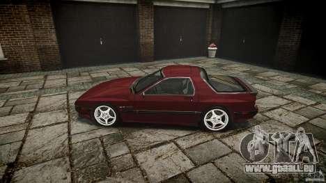 Mazda RX7 FC3S pour GTA 4 est une gauche