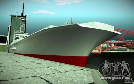 Porte-avions V2 finale pour GTA San Andreas