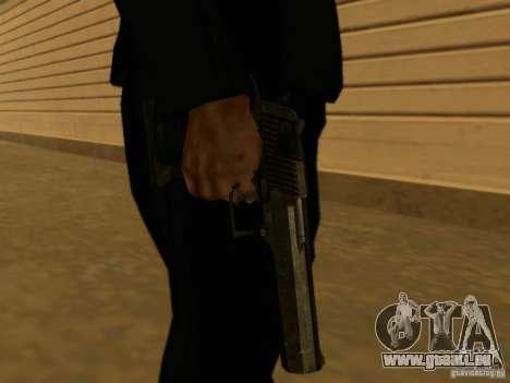 Desert Eagle MW3 pour GTA San Andreas troisième écran