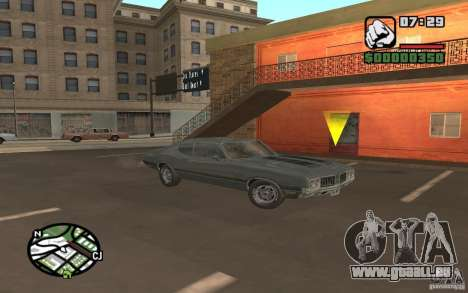 Oldsmobile 442 pour GTA San Andreas