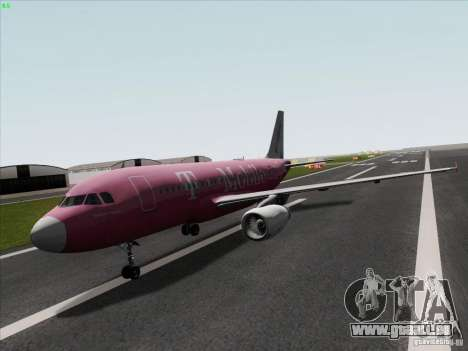 Airbus A319 Spirit of T-Mobile für GTA San Andreas