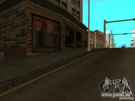 Nouveau Mulholland-nouvelle rue Mulholland pour GTA San Andreas quatrième écran