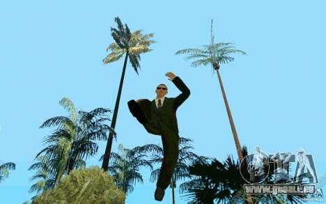 Black MIB pour GTA San Andreas troisième écran