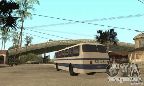 LAZ 699R (98-02) für GTA San Andreas zurück linke Ansicht