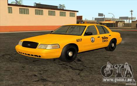 Ford Crown Victoria Taxi 2003 pour GTA San Andreas