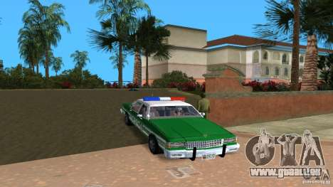 Ford LTD Crown Victoria 1985 Interceptor LAPD pour GTA Vice City