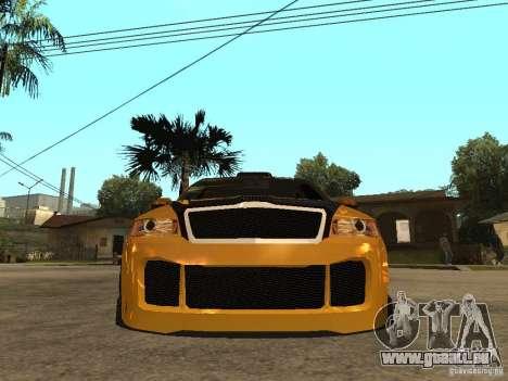 Skoda Octavia II Tuning pour GTA San Andreas vue de droite