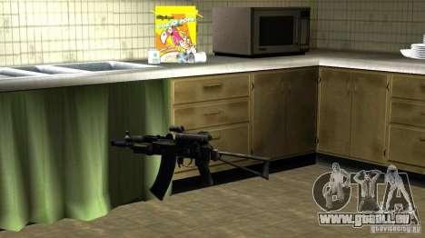 Pak intérieur armes version 6 pour GTA San Andreas