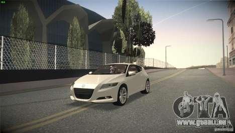 Honda CR-Z 2010 V1.0 für GTA San Andreas Seitenansicht