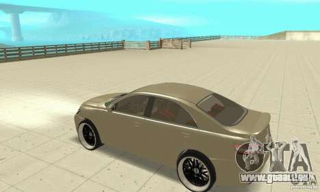 Toyota Camry Tuning 2010 pour GTA San Andreas vue arrière