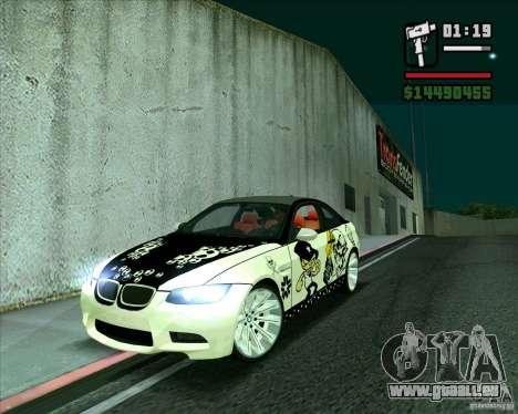 BMW M3 (E92) 2007 pour GTA San Andreas