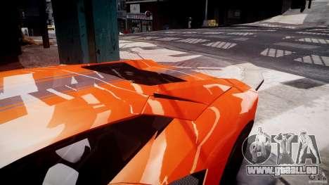 Lamborghini Aventador LP700-4 2011 [EPM] pour GTA 4 roues