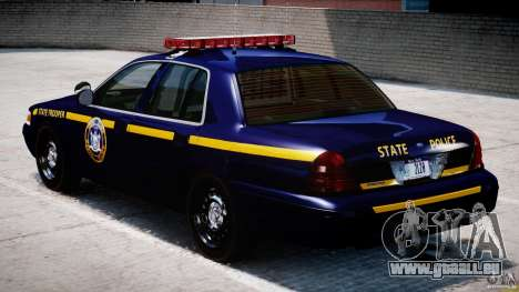 Ford Crown Victoria New York State Patrol [ELS] pour GTA 4 est un droit
