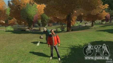 Belle végétation pour GTA 4 secondes d'écran