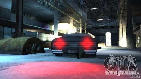 Apocalyptic Mustang Concept (Beta) pour GTA 4 Vue arrière